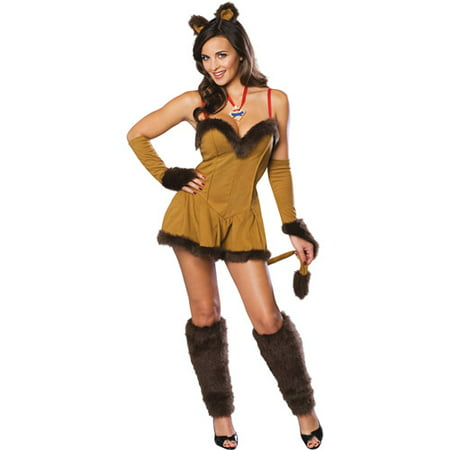 Cowardly Lion Adult Halloween Costume](Womens Cowardly Lion Costume)
