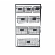 Cheungs Metal Wall Organizer with 8 Slots