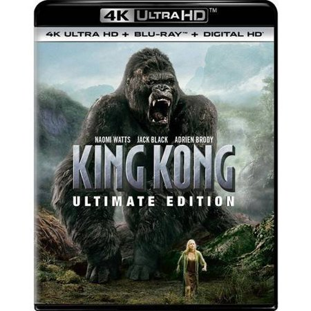 King Kong (Ultimate Edition) (4K Ultra HD + Blu-ray + Digital