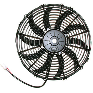 SPAL 13 in 1682 CFM High Performance Electric Cooling Fan P/N 30102045