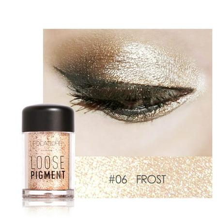 Iuhan Focallure 4 Colors Eye Shadow Makeup Pearl Metallic Eyeshadow Shining
