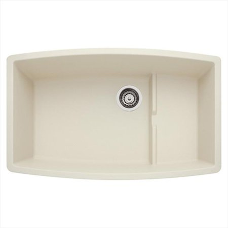 Performa Silgranit II Cascade Single Bowl Sink - Biscuit (Silgranit Biscuit Double Bowl)