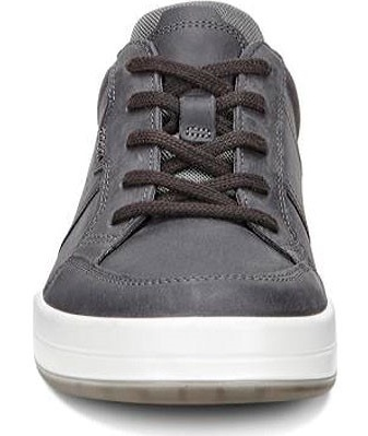 ECCO Mens Jack Suede Low Top Lace Up Fashion, Moonless/Moonless, Size 11.0