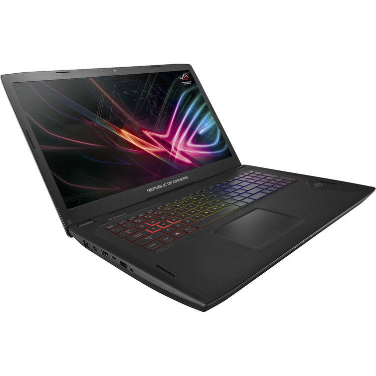 "ASUS ROG GL702 17.3"" Full HD Gaming Laptop, Intel Core i7-7700HQ Upto 3.8GHz, 32GB DDR4, 1TB SSD Plus 2TB HDD,... by ASUS"