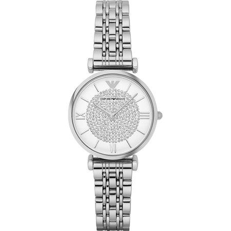 Emporio Armani Women's Retro Stainless Steel Watch AR1925 - Witch Getup For Halloween