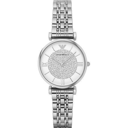 Emporio Armani Women's Retro Stainless Steel Watch -