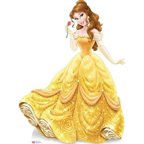 Advanced Graphics Belle Royal Debut - Disney Cardboard Standup