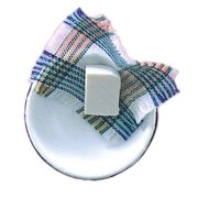 Dollhouse Basin W/Soap & Cloth