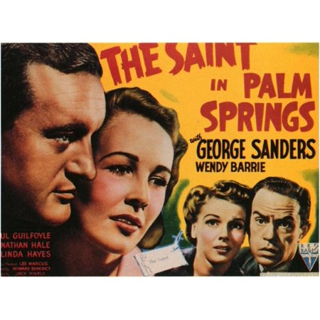 The Saint in Palm Springs POSTER Movie Mini Promo
