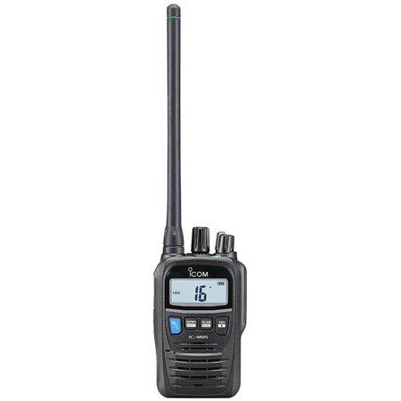 ICOM Durable Marine VHF/Land Mobile Handheld Radio (M85), Black