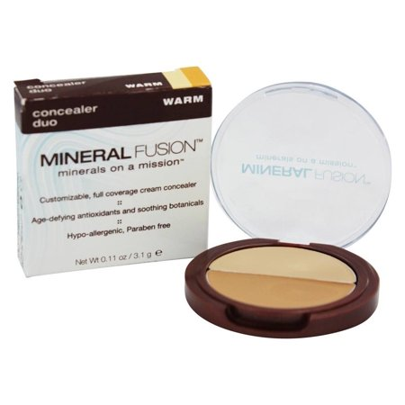 Mineral Fusion - Base Concealer Duo Under Eye & Face Warm - 0.11 oz.