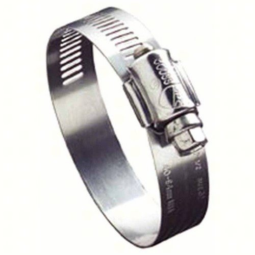 51 mm Hose OD Range General Purpose Fits 7//8-1-3//8 Hose ID 24 SAE Size Pack of 10 Fits 7//8-1-3//8 Hose ID Ideal Clamp Products 630040024051 Ideal-Tridon 63 Series High-Nickel Stainless Steel Worm Gear Hose Clamp 25 mm