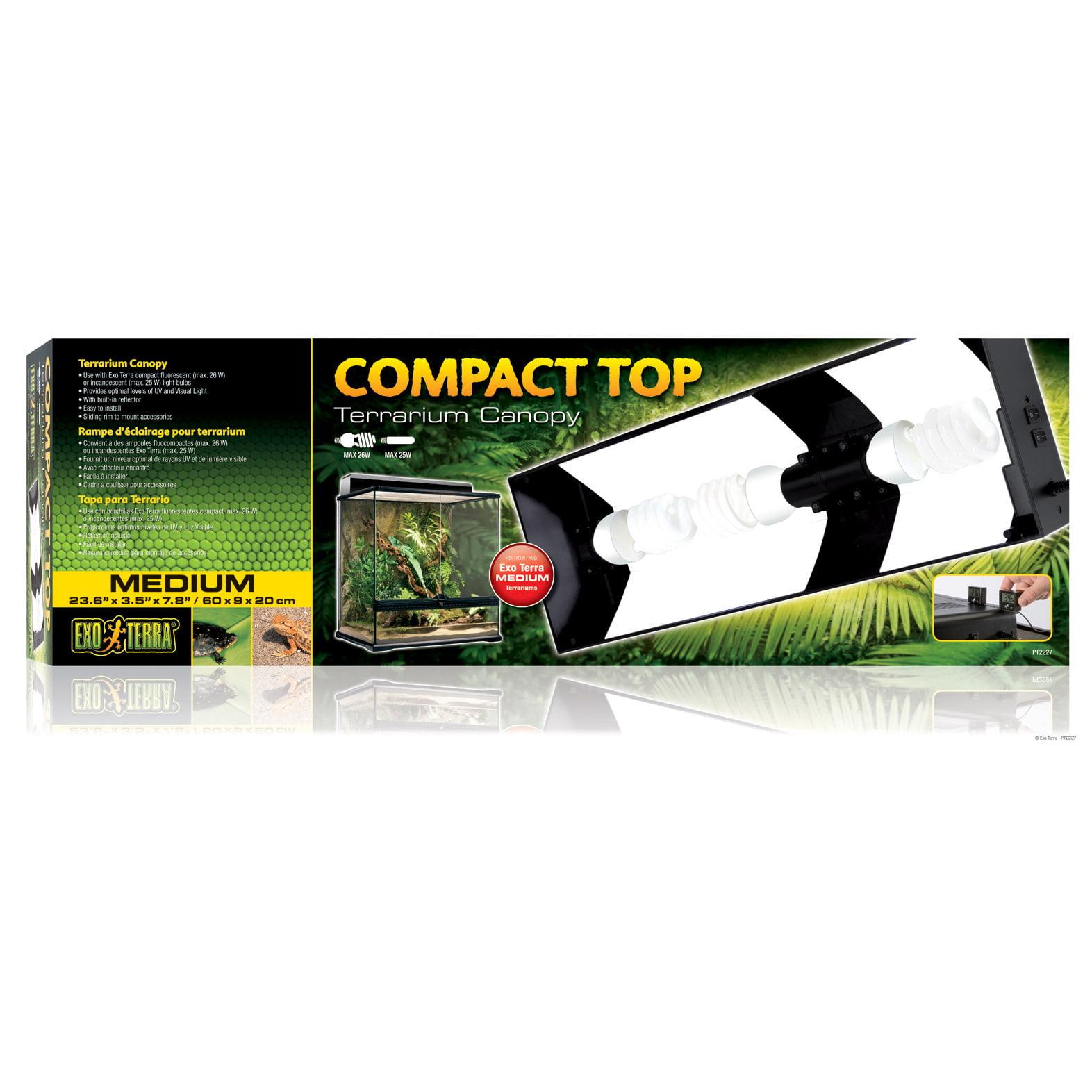 Exo Terra Compact Incandescent Fixture for PT2610/PT2612, Medium