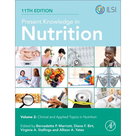 Present Knowledge in Nutrition: Clinical and Applied Topics in Nutrition (Paperback) Present Knowledge in Nutrition, Eleventh Edition,  provides an accessible, highly readable, referenced, source of the most current, reliable, and comprehensive information in the broad field of nutrition. Now broken into two, separate volumes, and updated to reflect scientific advancements since the publication of its tenth edition, Present Knowledge in Nutrition, Eleventh Edition includes expanded coverage on the topics of basic nutrition and metabolism and clinical and applied topics in nutrition. This volume, Present Knowledge in Nutrition: Clinical and Applied Topics in Nutrition, addresses life stage nutrition and maintaining health, nutrition monitoring, measurement, and regulation, and important topics in clinical nutrition. Authored by an international group of subject-matter experts, with the guidance of four editors with complementary areas of expertise, Present Knowledge in Nutrition, Eleventh Edition will continue to be a go-to resource for advanced undergraduate, graduate and postgraduate students in nutrition, public health, medicine, and related fields; professionals in academia and medicine, including clinicians, dietitians, physicians, and other health professionals; and academic, industrial and government researchers, including those in nutrition and public health.