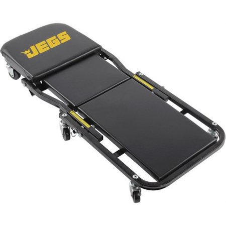 JEGS Performance Products 81165 2 in 1 Foldable Creeper & Seat - Swamp Creeper