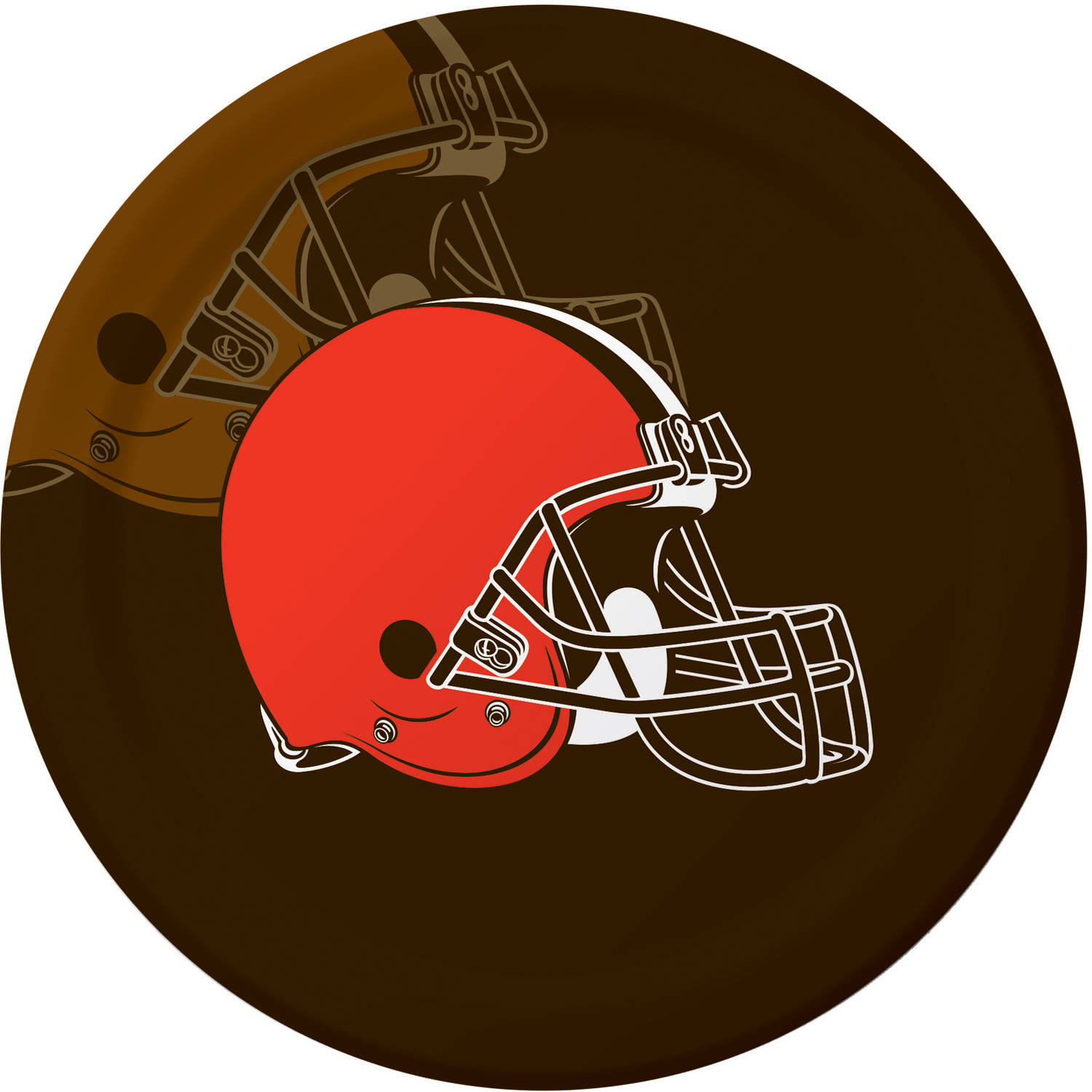 Cleveland Browns Plates, 8-Pack