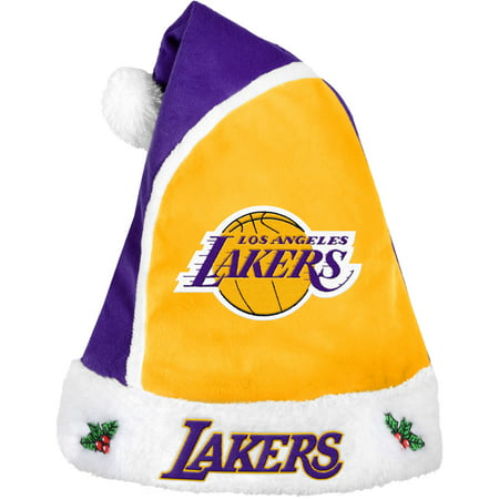 Forever Collectibles NBA 2015 Santa Hat, Los Angeles Lakers