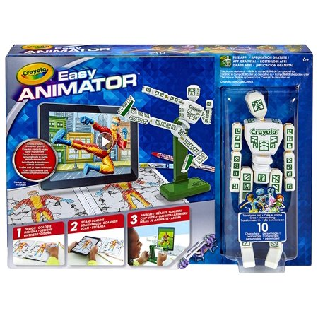 Color Alive Easy Animation Studio, Gift for Kids, 6, 7, 8, 9, 10, APP NO LONGER SUPPORTS PRODUCT By Crayola](Easy Animation)
