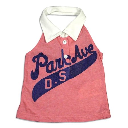 Dinky Souvenir - Big Girls Park Ave Halter Top PINK / - Park Ave Dallas Halloween