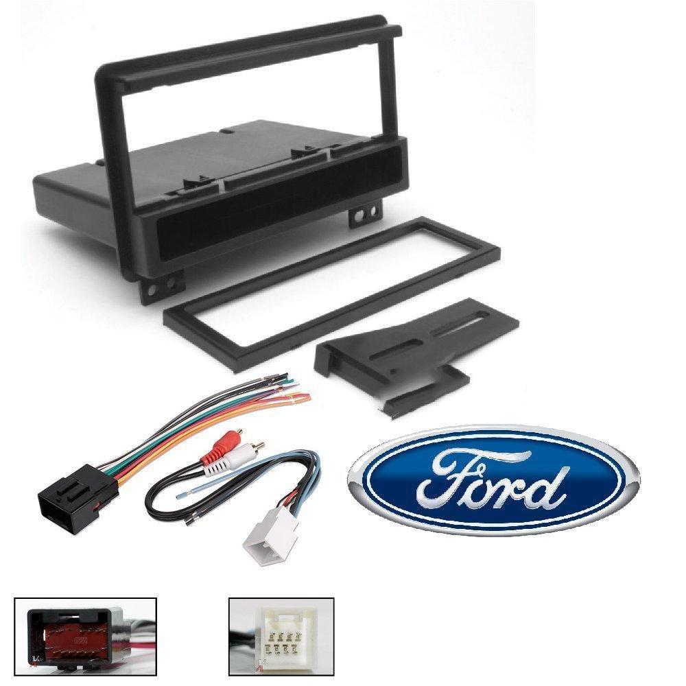Scosche Ford Wiring Harness Detailed Schematics Diagram Radio Fd1422b Single Din Installation Dash Kit For Select 2001 06