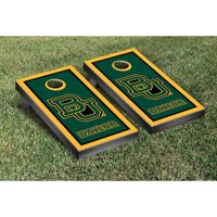 Victory Tailgate NCAA Border Wooden Script Cornhole Game Set