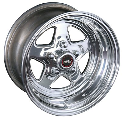 Weld Racing 96-58280 Pro Star 96-Series Wheel Size: 15'' x 8''
