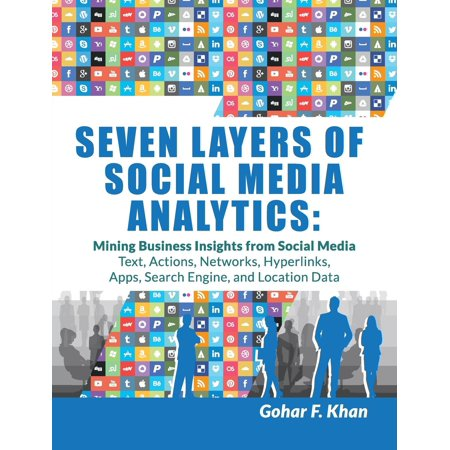 Seven Layers Of Social Media Analytics   Mining Business Insights From Social Media Text  Actions  Networks  Hyperlinks  Apps  Search Engine  And Location Data