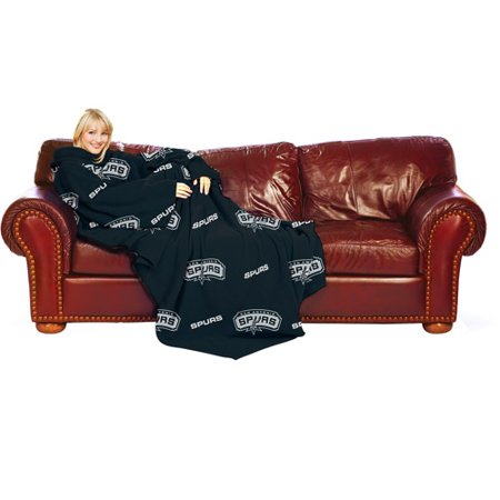NBA San Antonio Spurs Blanket With Sleeves Walmart Best Spurs Throw Blanket
