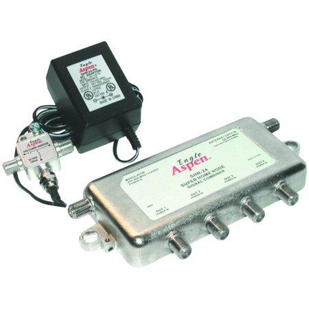 (Signal Combiner/Amplified 4-Way Splitter)