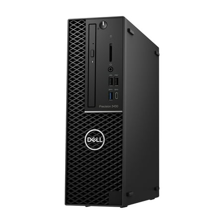 Refurbished - Dell Precision 3430, SFF, Intel Core i5-8400 up to 4.00 GHz, 32GB DDR4, NEW 1TB SSD, DVD-RW, Wi-Fi, USB to HDMI Adapter, NEW Keyboard + Mouse, Win10 Pro 64
