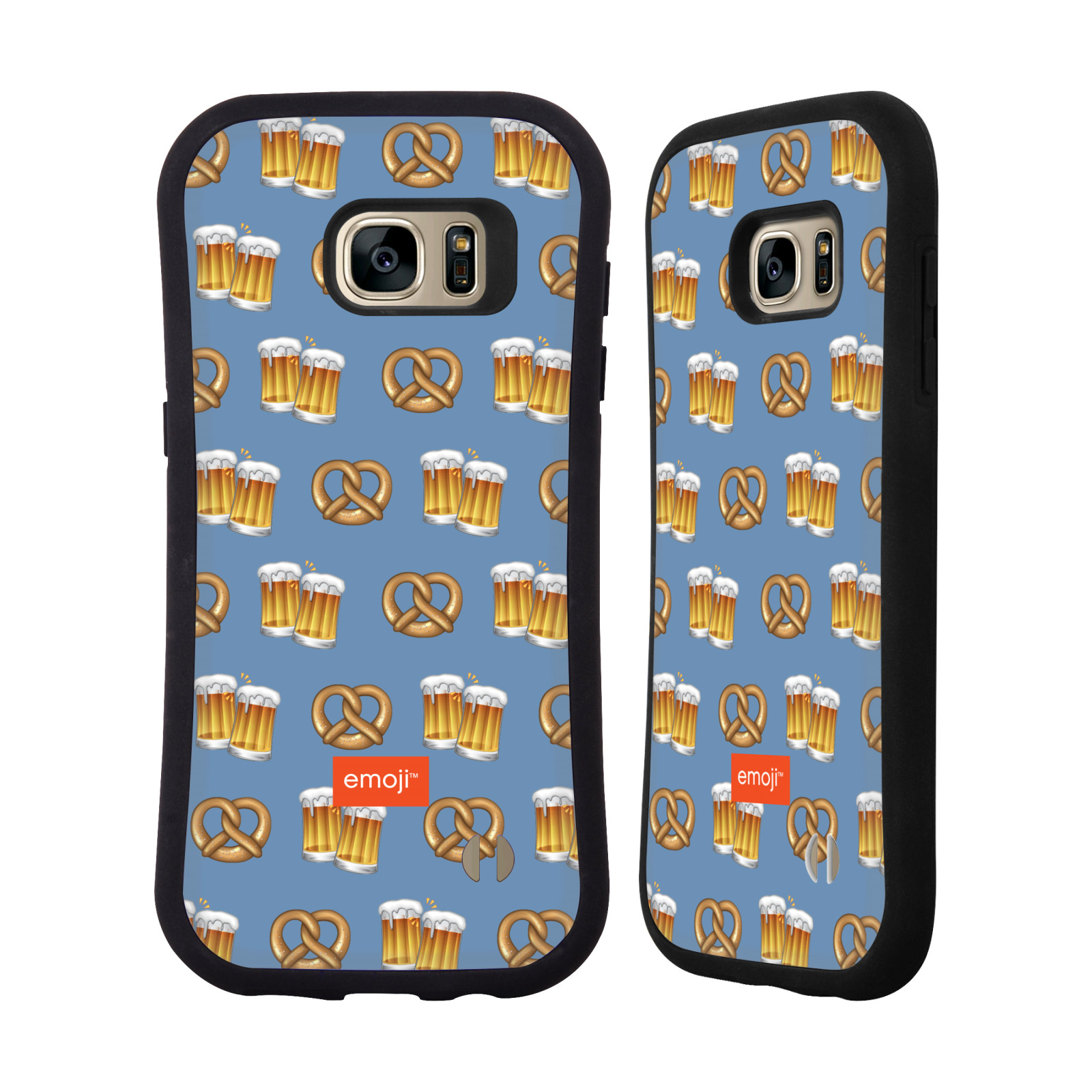 OFFICIAL EMOJI OKTOBERFEST HYBRID CASE FOR SAMSUNG PHONES