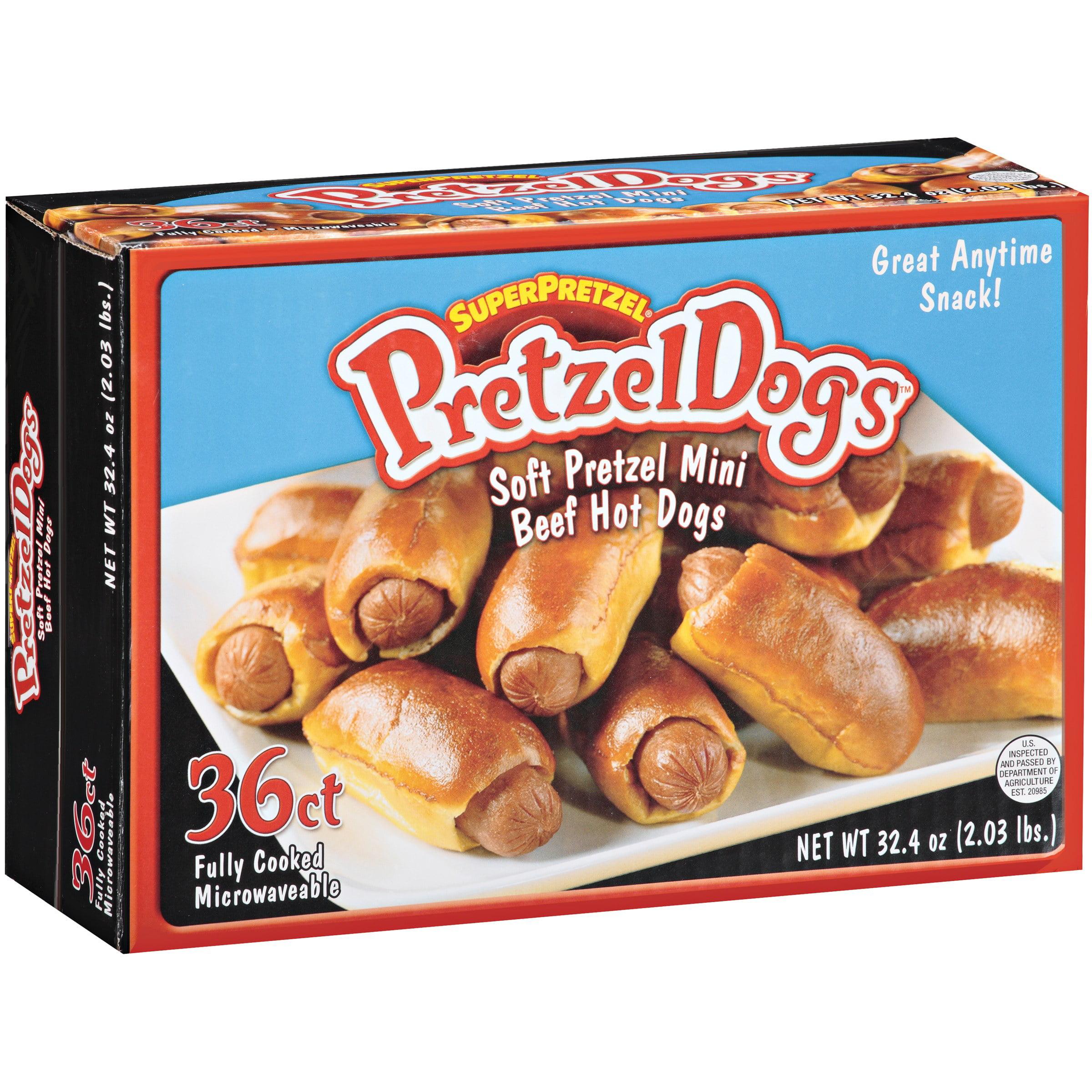 SuperPretzel Pretzel Dogs 36 ct