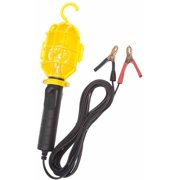 Bayco SL-412 12V Incandescent Work Light with Non-Metallic Guard and Battery Clips