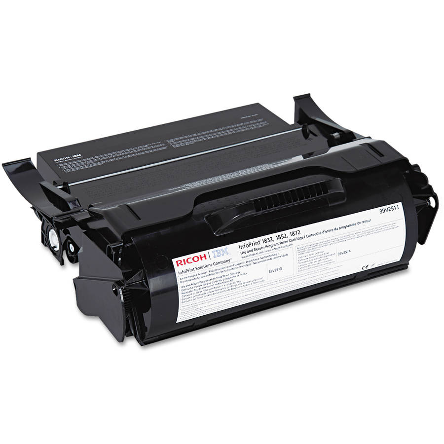 InfoPrint Solutions Company 39V2511 Black Toner Cartridge