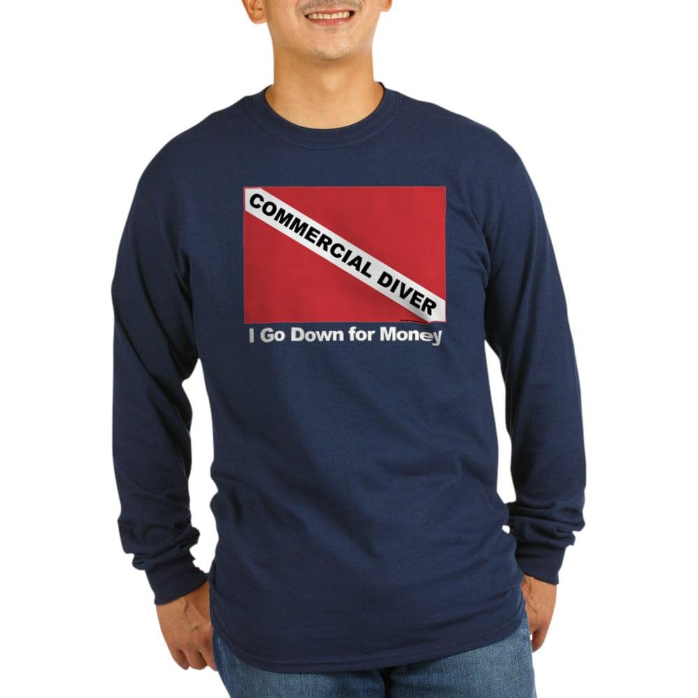 S-5XL Cool Commercial Diver Standard Unisex T-shirt Standard Unisex T-shirt
