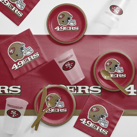 San Francisco 49ers Tailgating Kit](W San Francisco Halloween Party)
