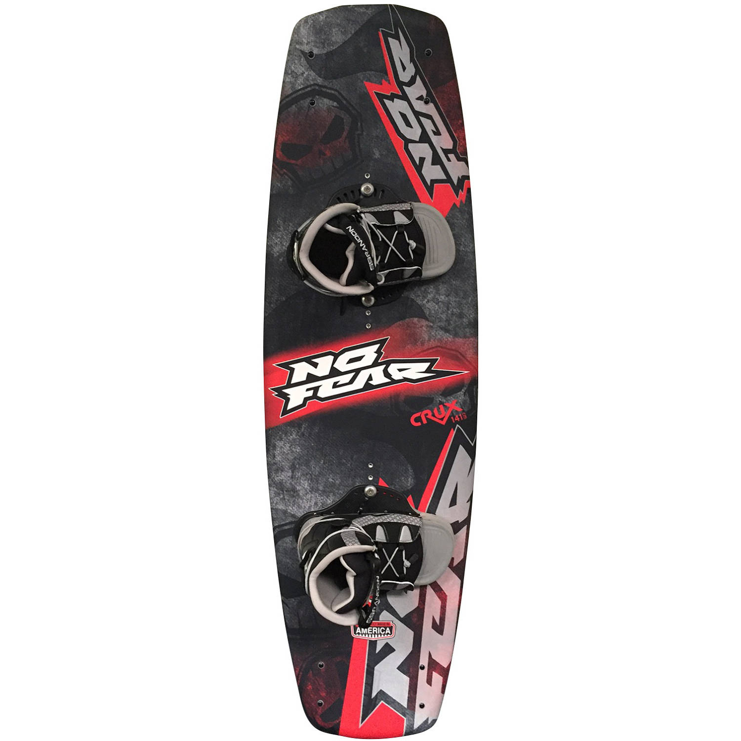 Nash No-Fear Crux Wakeboard with Brandon Bindings by Nash