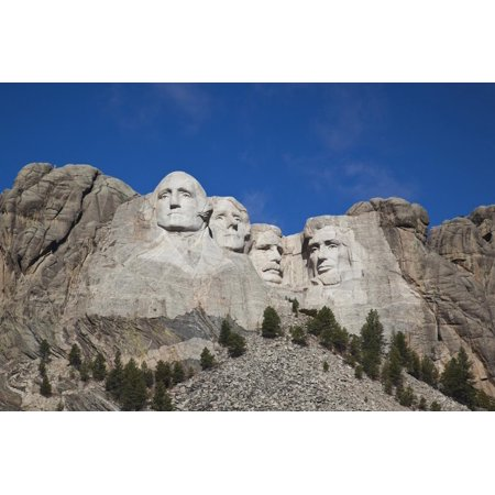 Mount Rushmore Charm (Mount Rushmore National Memorial, Keystone, South Dakota, USA Print Wall Art By Walter Bibikow)