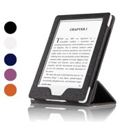 "Fortune Case for Kindle E-Reader (8th Generation 2016) with Foldable and Stand Able Front Cover, Magnetic Secured Closure,Wake/Sleep for Amazon Kindle (6"" Display, 8th Gen 2016 Release)-Black"