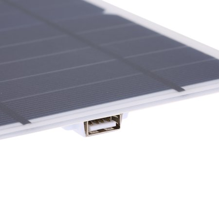 7.8W Portable Ultra Thin Monocrystalline Silicon Solar Panel USB Port for Cell Phone Outdoor Camping Climbing Hiking - image 3 of 7