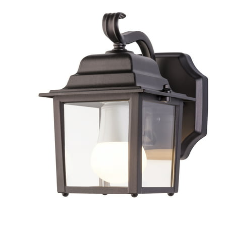 Chapter Outdoor Wall Mount Lantern Coach Light With Led Bulb Oil Rubbed Bronze