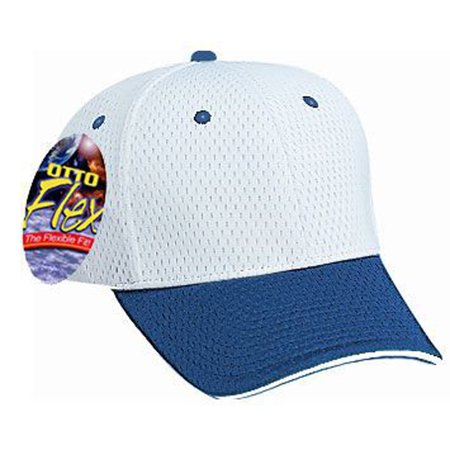 Low Profile Sandwich - Otto Cap  Stretchable Polyester Pro Mesh Sandwich Visor Low Profile Style Caps (S/M) - Hat / Cap for Summer, Sports, Picnic, Casual wear and Reunion etc