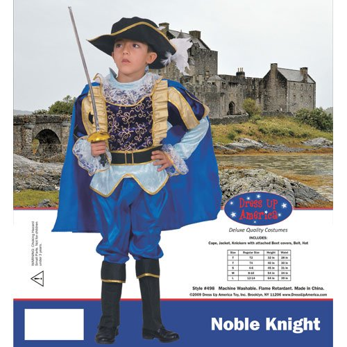 Dress Up America Nobel Knight Children's Costume