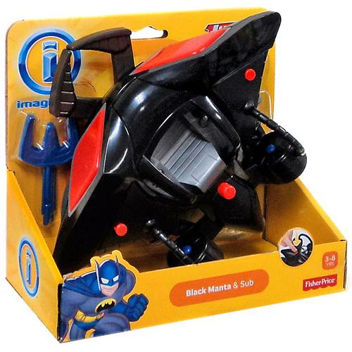 Imaginext, Justice League, Exclusive Black Manta & Sub