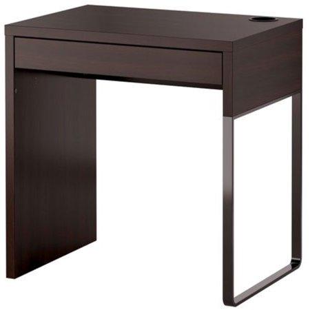 Ikea Micke Black Brown Modern Computer Desk 10210 141423 1016