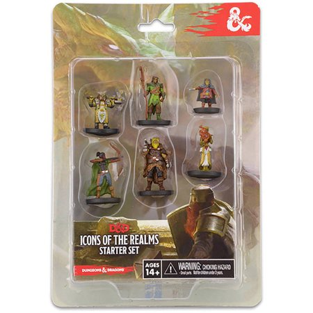 - WizKids Dungeons and Dragons Icons of the Realms Figure Set Starter Set
