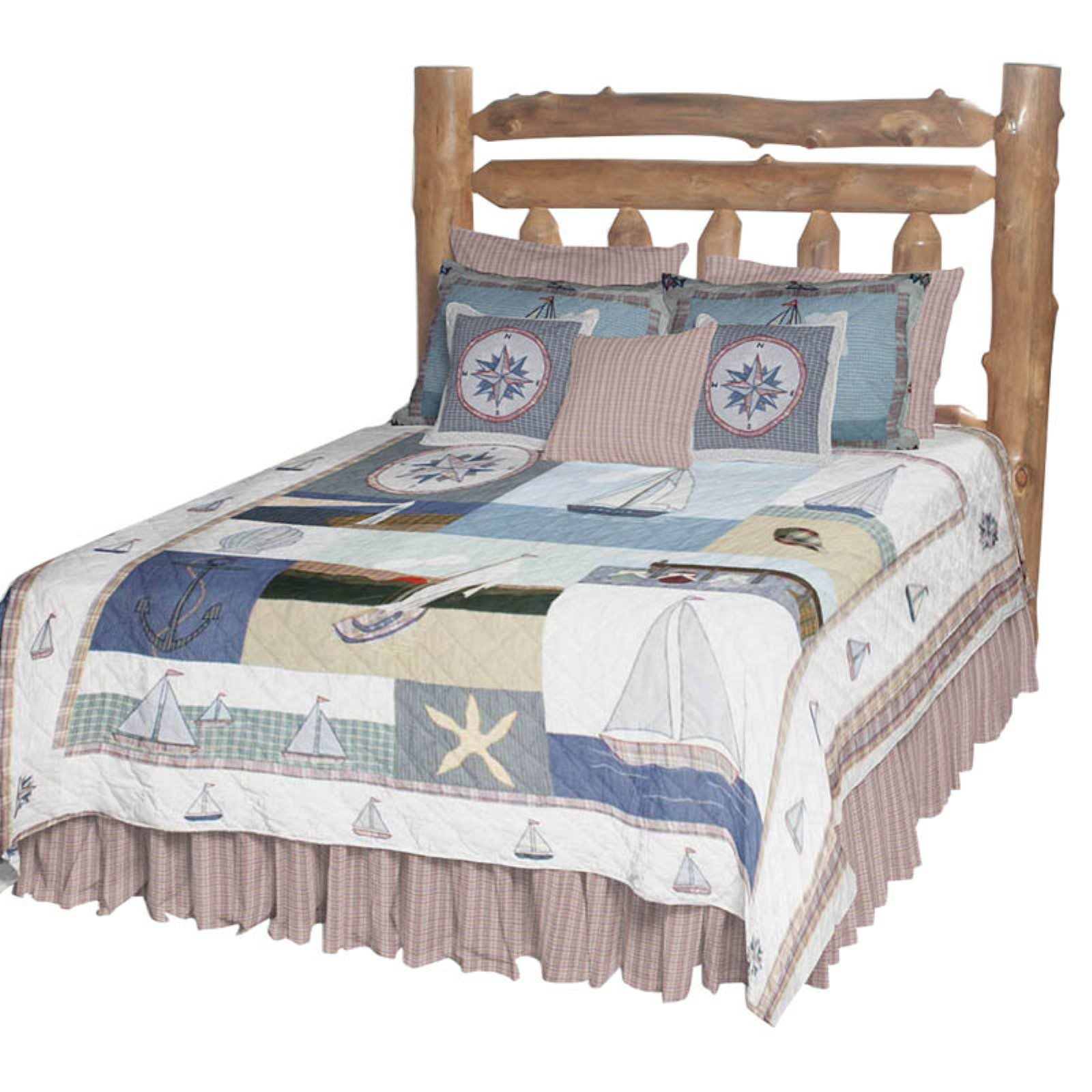 Patch Magic QTNAUT Nautical, Quilt Twin 65 x 85 inch