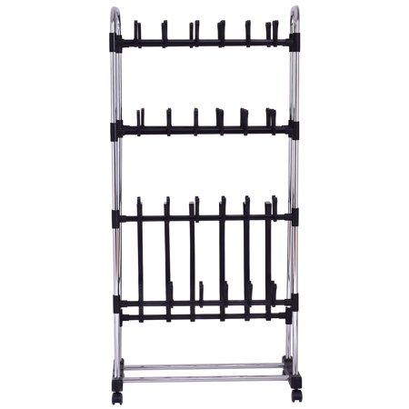 36 Pairs Clip On Shoe&Boot Rack Adjustable Storage Shelf Holder Space - image 5 of 10