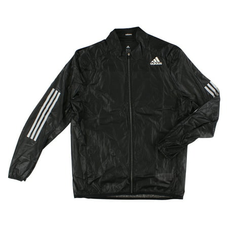 Adidas Mens ClimaProof Wind Ultra Light Jacket Black XL