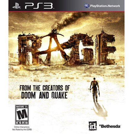 Rage  Ps3    Pre Owned